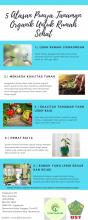 5 ALASAN PUNYA TANAMAN ORGANIC UNTUK RUMAH SEHAT