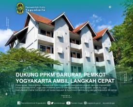 Dukung PPKM Darurat, Pemkot Yogyakarta Ambil Langkah Cepat