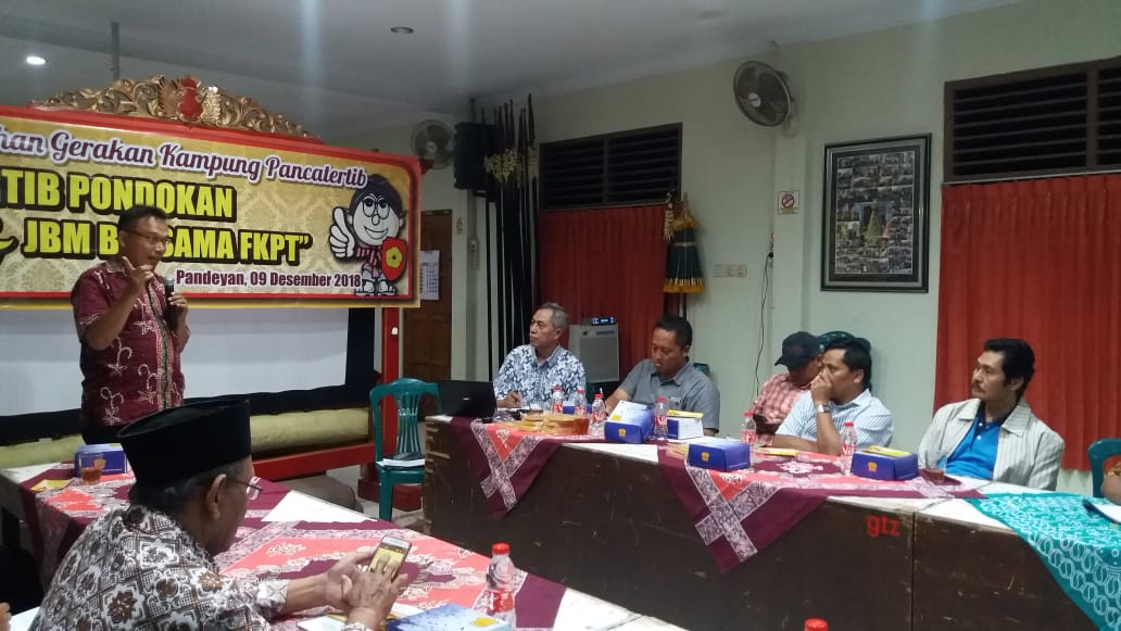 Sarasehan Gerakan Kampung Panca Tertib, Pandeyan 09-12-2018